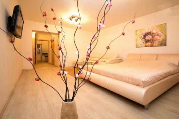 1-комнатная квартира посуточно (вариант № 3702), ул. Советская улица, фото № 2