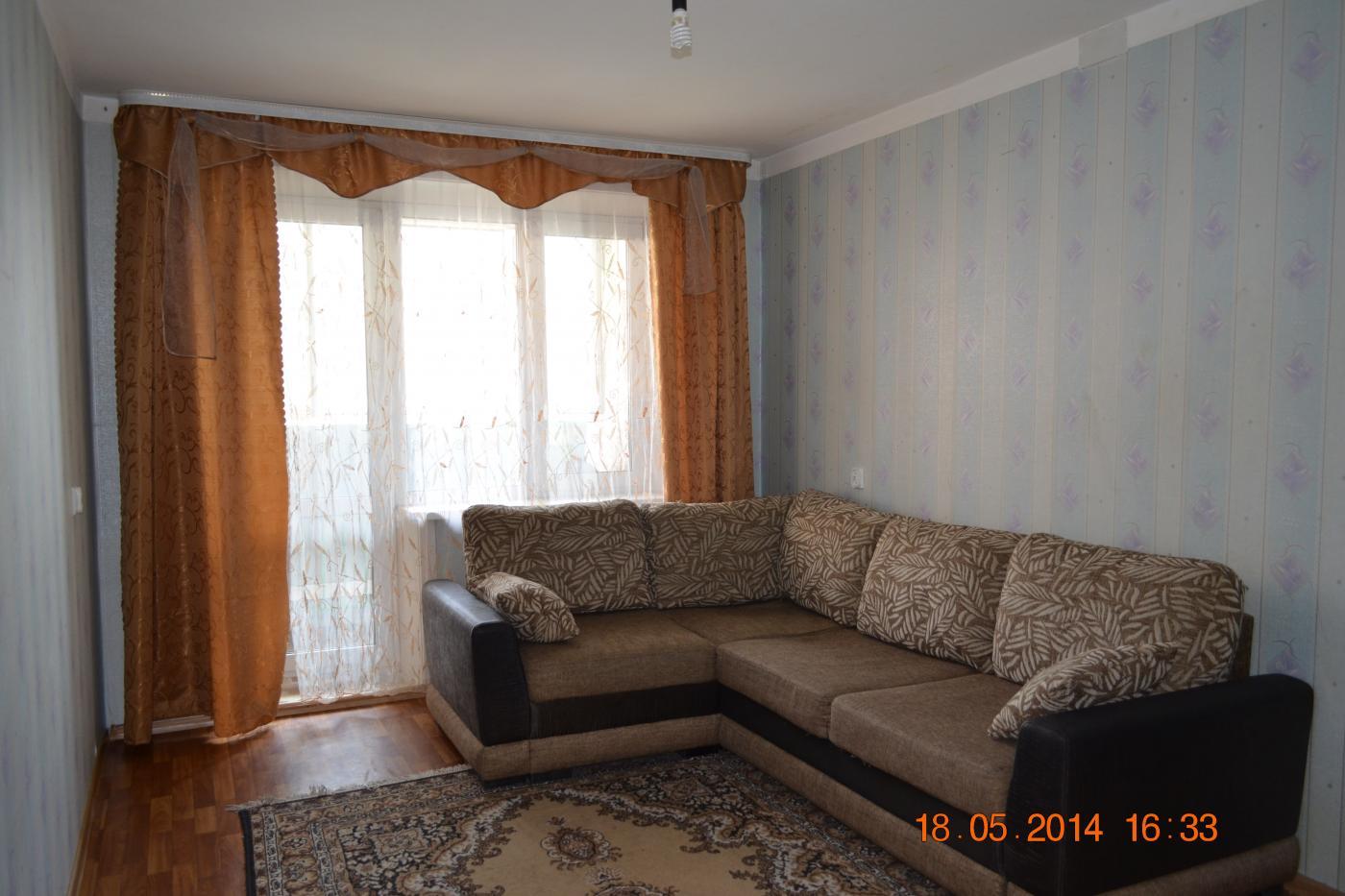 1-комнатная квартира посуточно (вариант № 1498), ул. Краснореченская улица, фото № 2