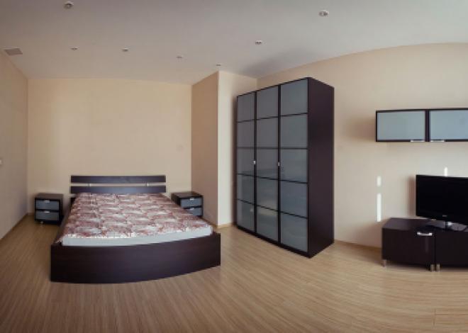 1-комнатная квартира посуточно (вариант № 196), ул. Ленина улица, фото № 3