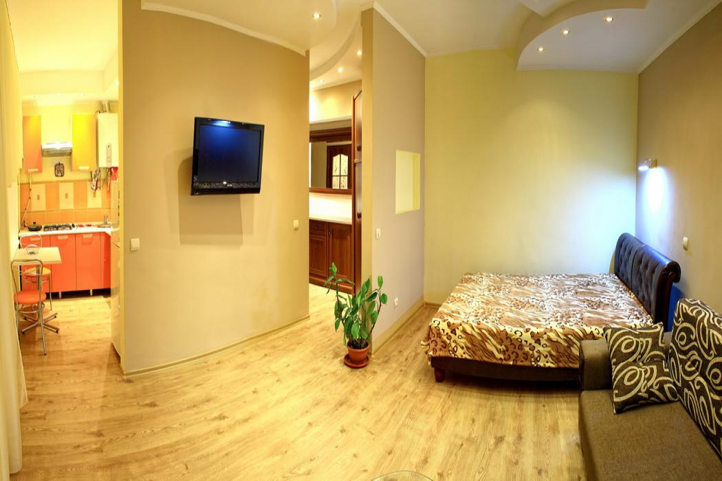 1-комнатная квартира посуточно (вариант № 610), ул. Советская улица, фото № 3