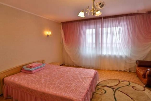 1-комнатная квартира посуточно (вариант № 3460), ул. Ленина улица, фото № 2