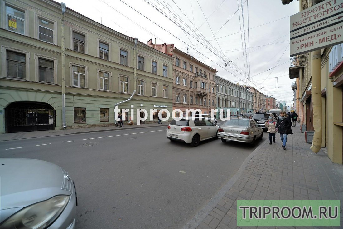 1-комнатная квартира посуточно (вариант № 63539), ул. Гороховая улица, фото № 23
