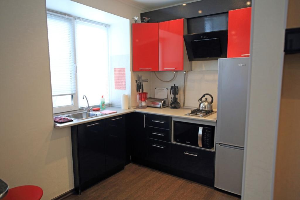 1-комнатная квартира посуточно (вариант № 516), ул. Ленина проспект, фото № 4