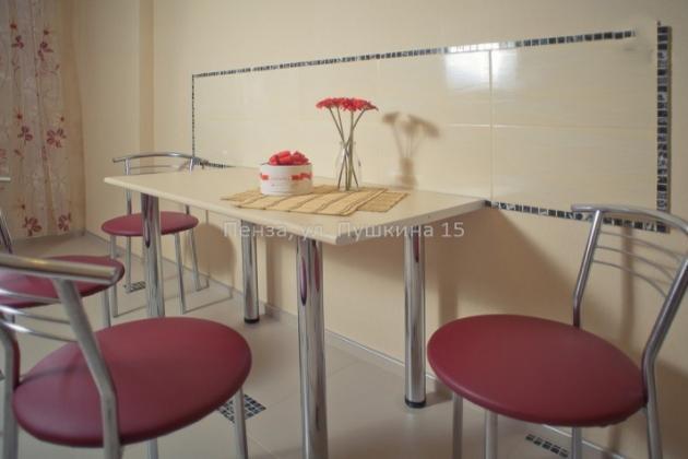 1-комнатная квартира посуточно (вариант № 3501), ул. Пушкина улица, фото № 3