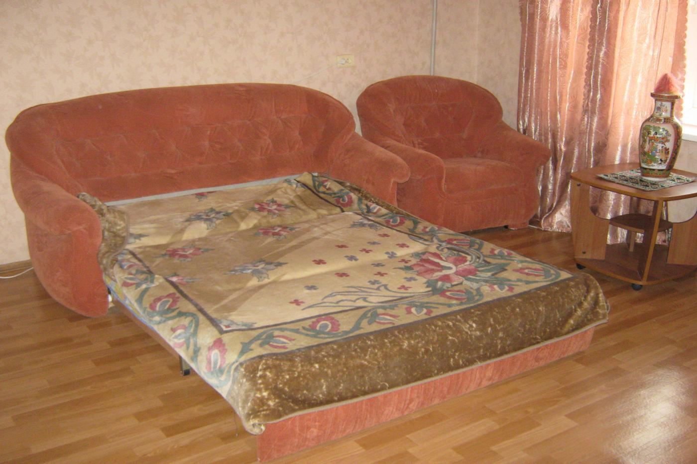 1-комнатная квартира посуточно (вариант № 1278), ул. Октябрьской Революции проспект, фото № 3