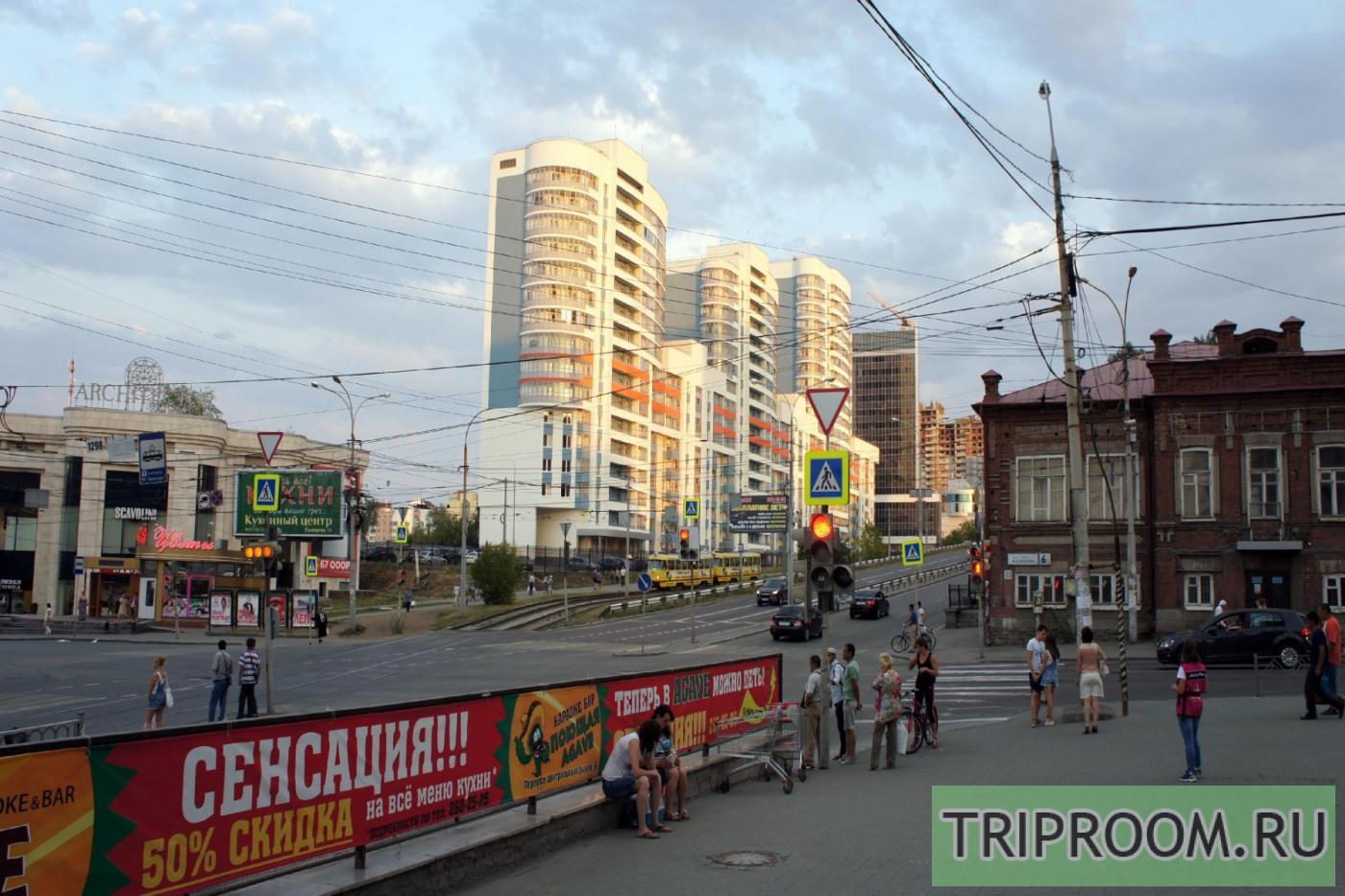 1-комнатная квартира посуточно (вариант № 23100), ул. Московская улица, фото № 19