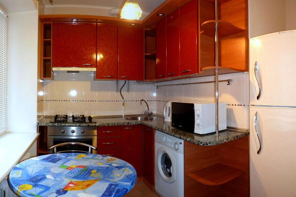 1-комнатная квартира посуточно (вариант № 1850), ул. Советская улица, фото № 6