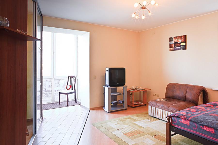 1-комнатная квартира посуточно (вариант № 781), ул. Советская улица, фото № 2