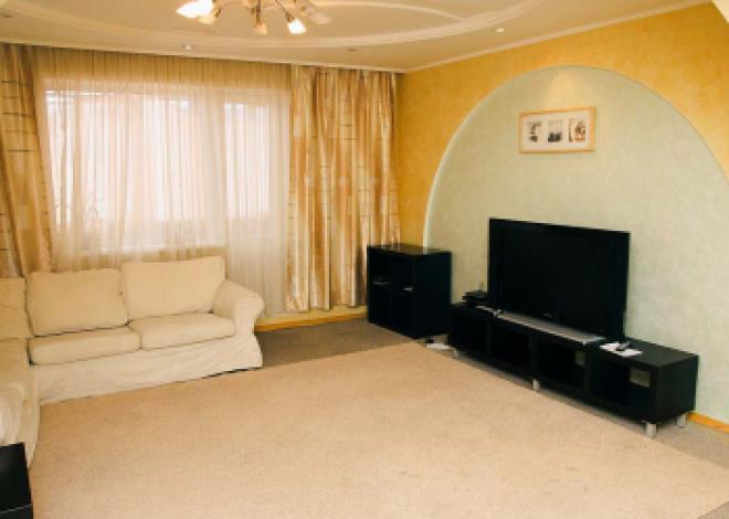 3-комнатная квартира посуточно (вариант № 191), ул. Уинская улица, фото № 4