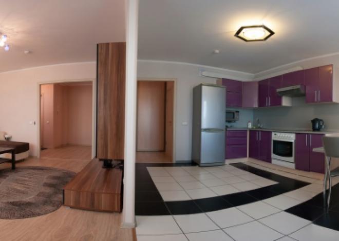 1-комнатная квартира посуточно (вариант № 75), ул. Свободный проспект, фото № 4