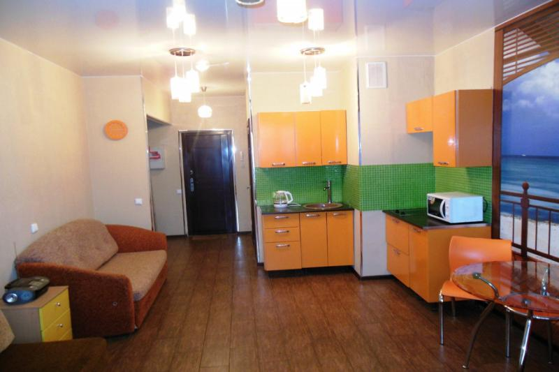 1-комнатная квартира посуточно (вариант № 389), ул. Ленинская улица, фото № 3