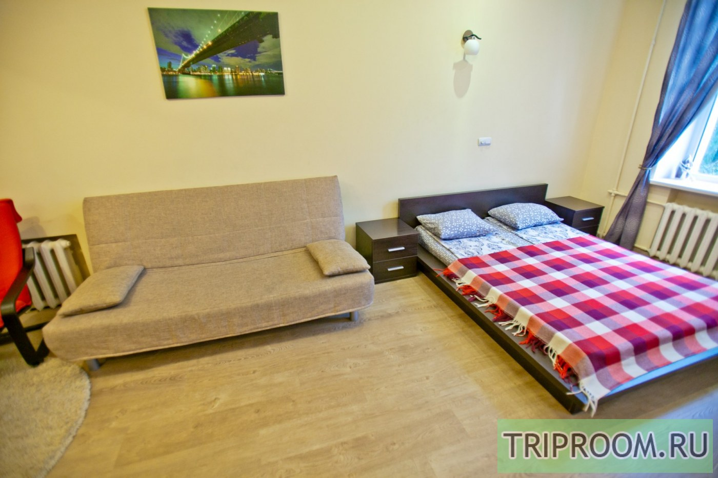 1-комнатная квартира посуточно (вариант № 8396), ул. Краснинская 2-я улица, фото № 12