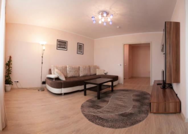 1-комнатная квартира посуточно (вариант № 75), ул. Свободный проспект, фото № 3