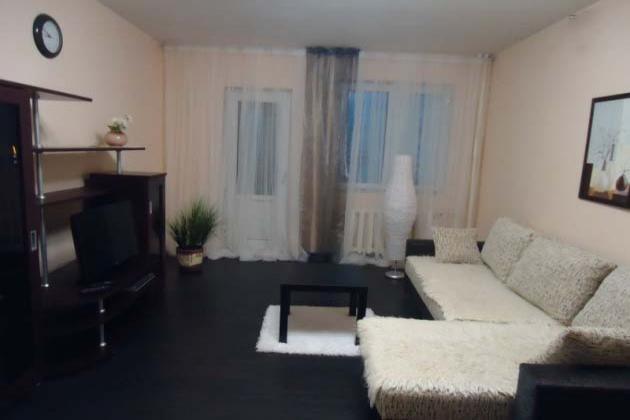 1-комнатная квартира посуточно (вариант № 2572), ул. Фатыха Амирхана улица, фото № 6