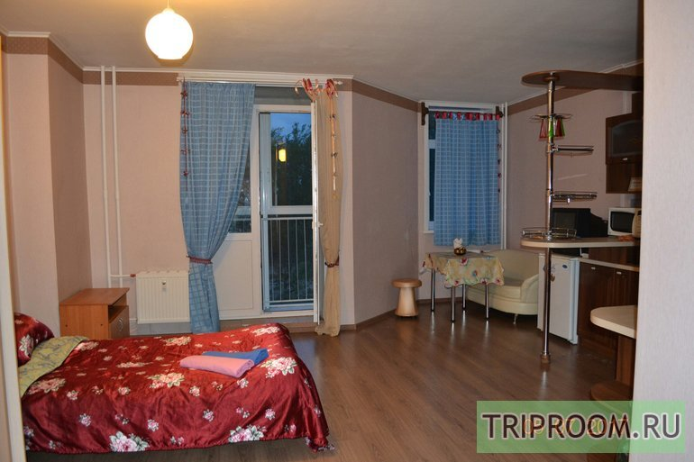1-комнатная квартира посуточно (вариант № 41642), ул. Карпинского улица, фото № 1
