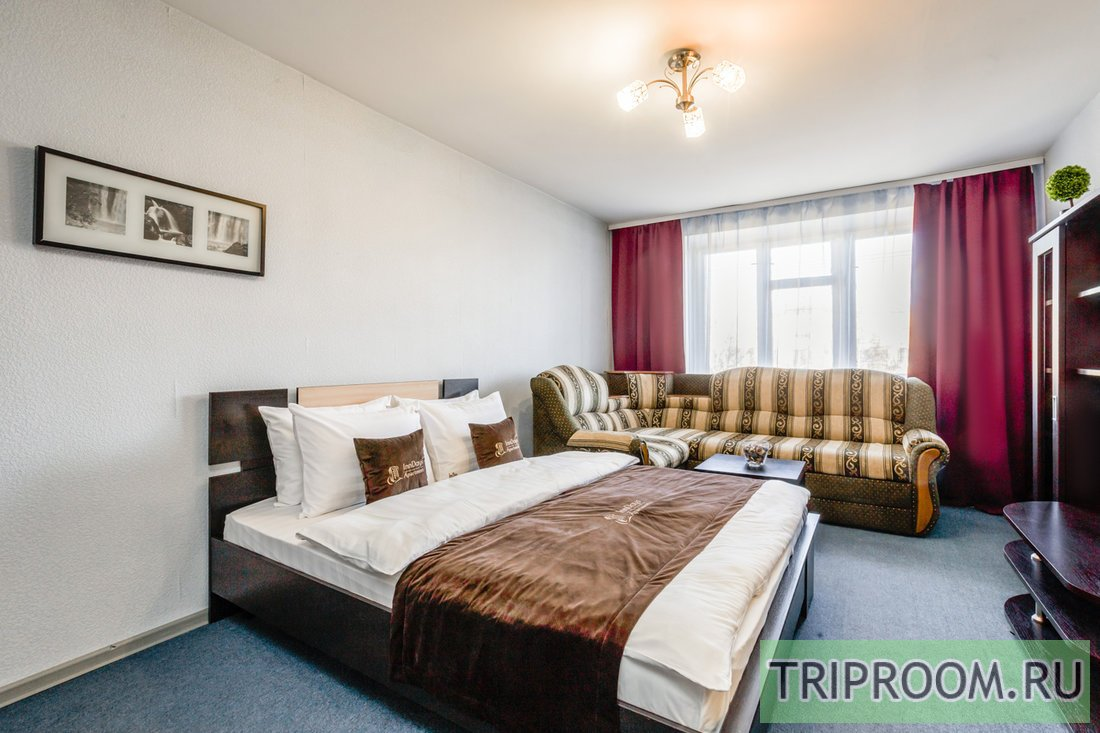 1-комнатная квартира посуточно (вариант № 64674), ул. Проспект Андропова, фото № 3