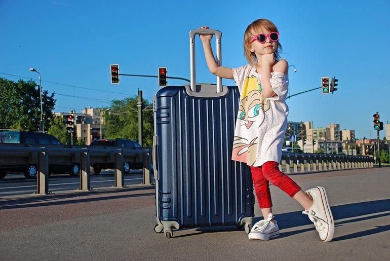 ребенок путешествие фото