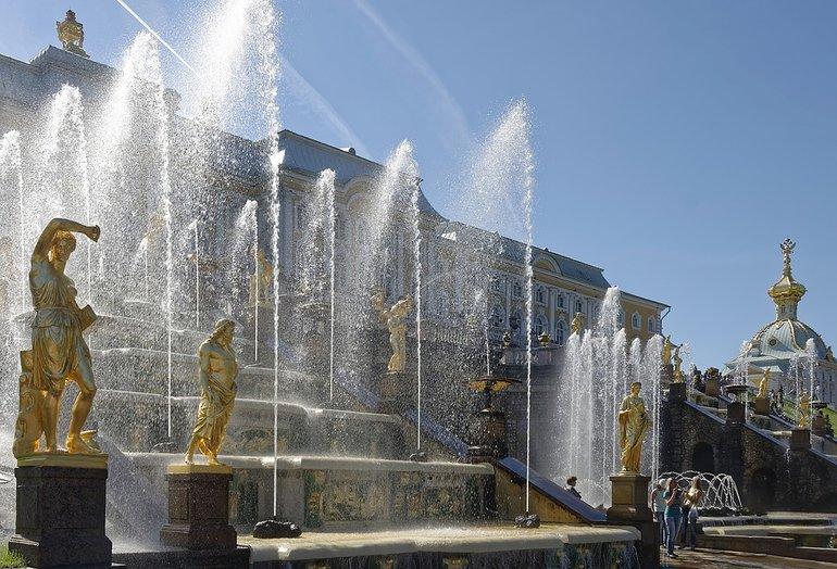 путешествие в санкт-петербург фото