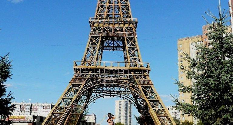 Эйфелева башня в Красноярске