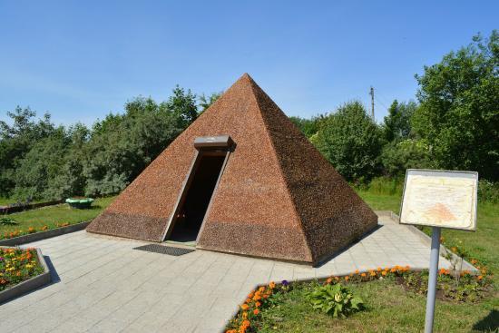Янтарная пирамида Светлогорск