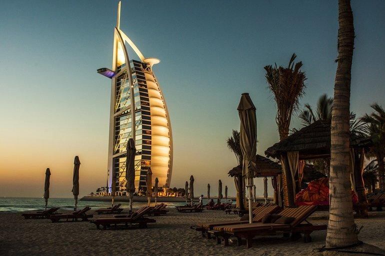 отдыха в Дубае в октябре 2019