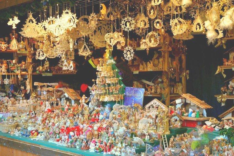 рождественские ярмарки и распродажи