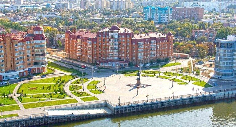 из Оренбурга в Астрахань