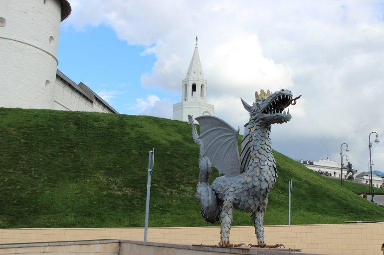 дракон Зилант в Казанском Кремле