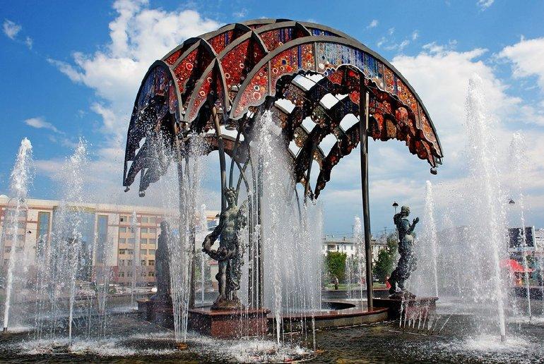Чудесный фонтан