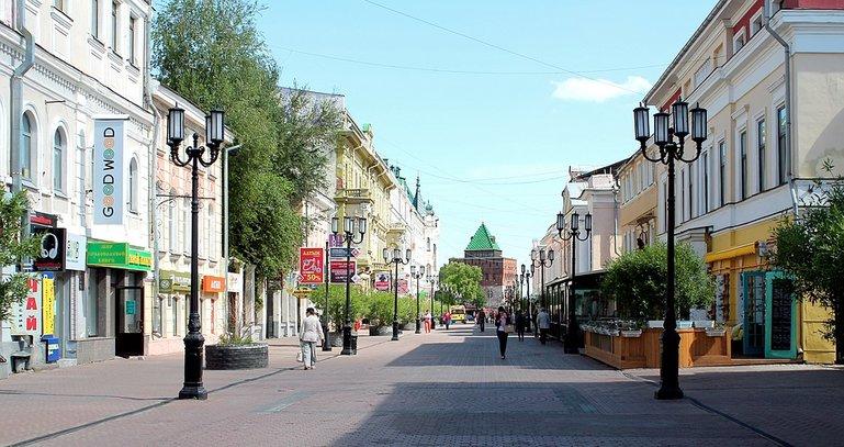 Нижний Новгород из Ярославля