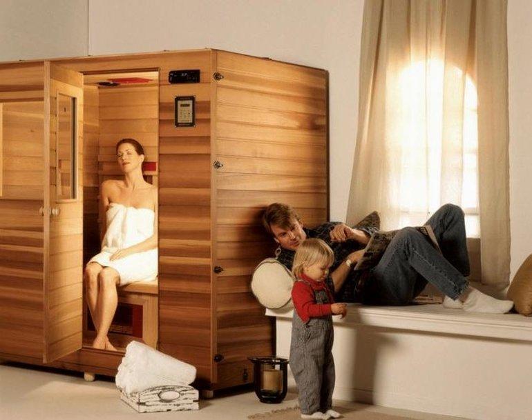 баня в квартире фото