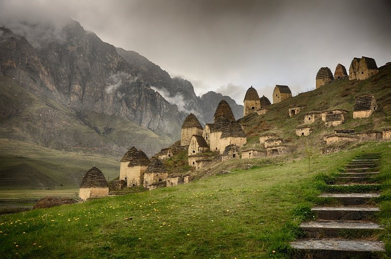 горная местность фото