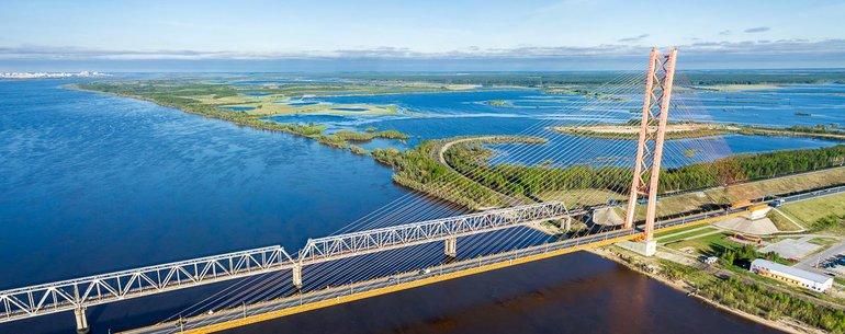 Югорский мост Сургут