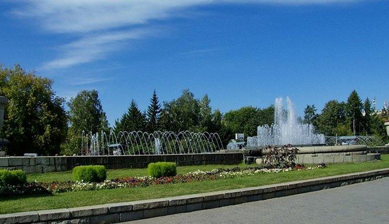 Первомайский сквер Новосибирск