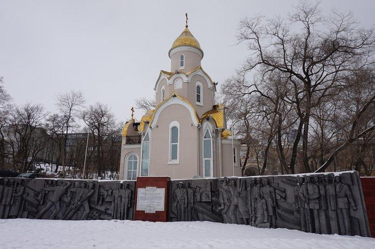 храмовые сооружения Владивостока