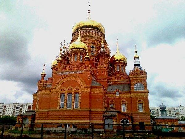 церковь в Оренбурге